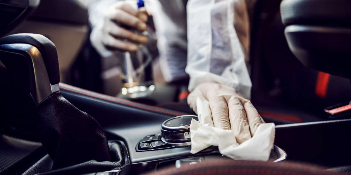 Car COVID Cleaning: How to sanitise your car interior